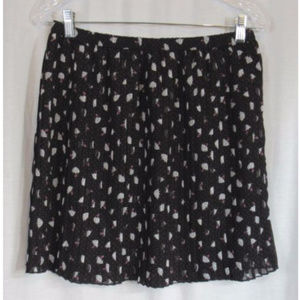 Cato Girls Blue Pink Umbrella Polka Dot Skirt XL